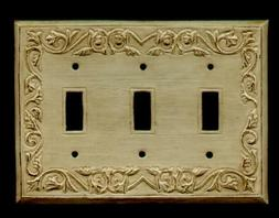 ANTIQUE ORNATE LIGHT SWITCH PLATE 3 - SWITCH / S-3