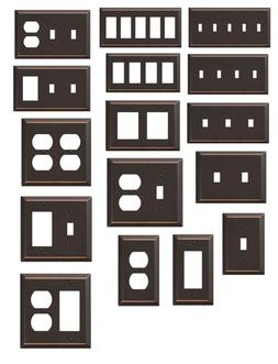 Bronze Wall Switch Plate Outlet Cover Rocker Toggle Light Wa