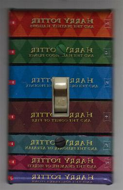 Harry Potter Books Switch Plate Cover Home Decor