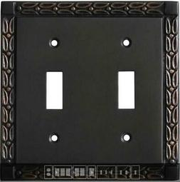 Leaf Oil Rubbed Bronze  Switch Plates, Wall Plates & Outlet