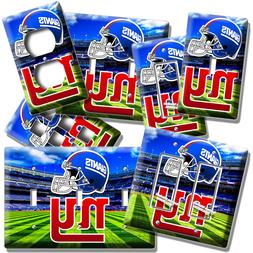 NEW YORK GIANTS NY FOOTBALL TEAM LIGHT SWITCH OUTLET WALL PL