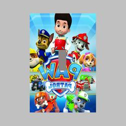 PAW PATROL - SINGLE Light Switch Plate / Cover