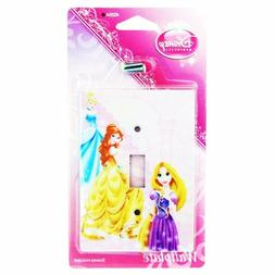 Disney Princesses Wall Plate Electric Light Switch Cover W/