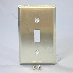 Mulberry Stainless Steel 1-Gang Switch Cover Toggle Wallplat