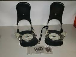 Switch Standard X Step-In Snowboard Bindings Complete With P