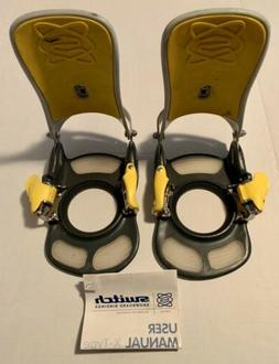 SWITCH Step-in Snowboard Bindings - No Plates Rate Team X  S