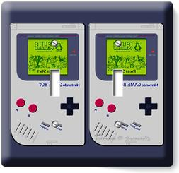 VIDEO GAME BOY CONSOLE CLASSIC NINTENDO DOUBLE LIGHT SWITCH