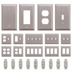 wall switch plate outlet cover toggle duplex